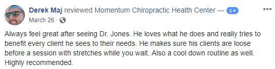 Chiropractic Morgan Hill CA Derek Testimonial