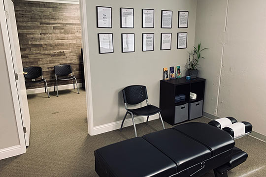 Chiropractic Morgan Hill CA Adjustment Room